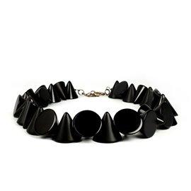 Collier Sobral cones noir