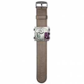 Bracelet de montre Stamps bronze satin