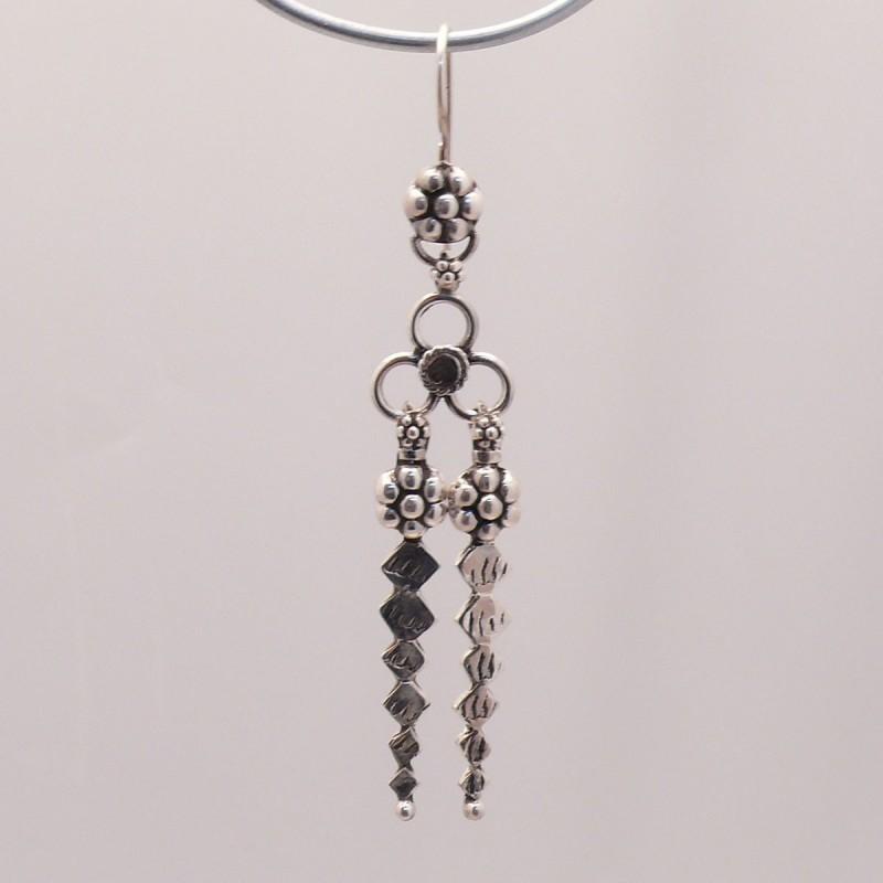 Boucles d oreilles pendantes en argent 925 oreilles percées cecd36bd68b8