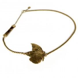 Bijou de tête doré papillon Headband bijou cheveux