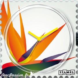 Cadran de montre Stamps strelitzia