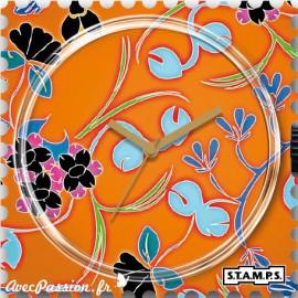 STAMPS Cadran de montre tropical forest