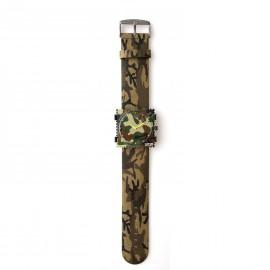 Bracelet de montre Stamps kaki Jack rough camouflage