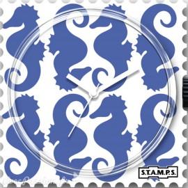 Cadran de montre Stamps seahorse