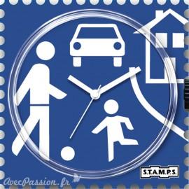 Cadran de montre Stamps slow down !