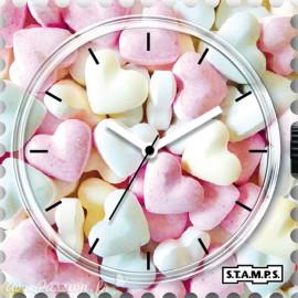 Cadran de montre Stamps sweet hearts