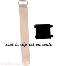 Clip pour fixer cadran sur bracelet de montre Stamps