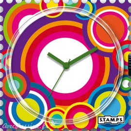 STAMPS Cadran de montre saturday night fever