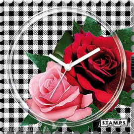 STAMPS Cadran de montre england's rose