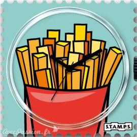 STAMPS Cadran de montre funny fries