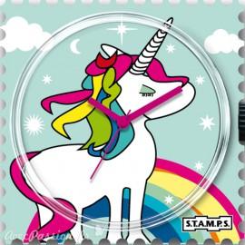 STAMPS Cadran de montre rainbow
