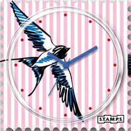 STAMPS Cadran de montre swallowed stripes