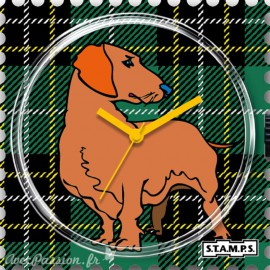 Cadran de montre Stamps scotch dog