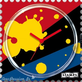 STAMPS Cadran de montre splash