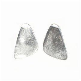 Boucles d'oreilles clips Dolce Vita Argent galets