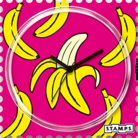 Montre Stamps cadran de montre banana
