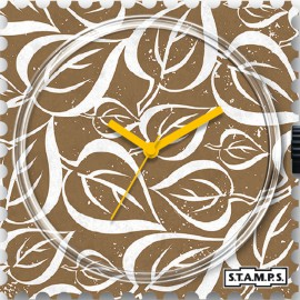 STAMPS Cadran de montre leaves