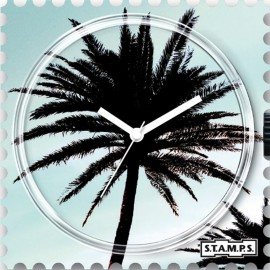 STAMPS Cadran de montre palm tree