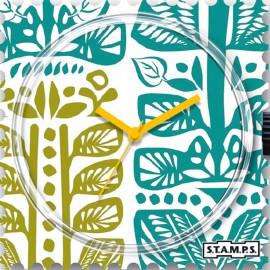 Montre Stamps cadran de montre nordic pattern
