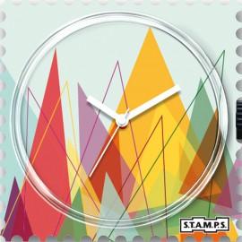 Montre Stamps cadran de montre peacks