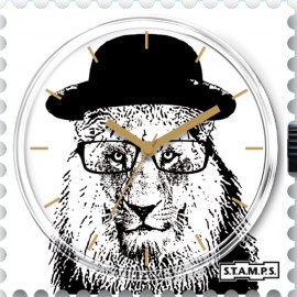 Montre Stamps cadran de montre mr tiger
