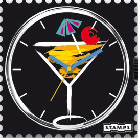 Montre Stamps cadran de montre cheers !
