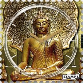 Montre Stamps cadran de montre pali