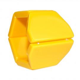 Montre Stamps bracelet de montre belta Y jaune élastique