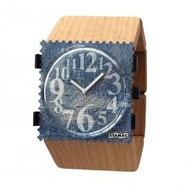 Bracelet élastique de montre Stamps en bois clair
