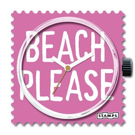 Montre Stamps cadran de montre beach please