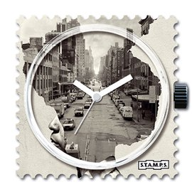 Montre Stamps cadran de montre freedom