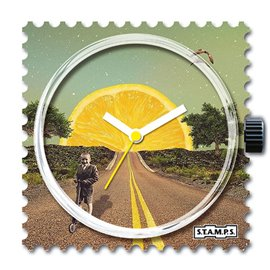 Montre Stamps cadran de montre lemon road