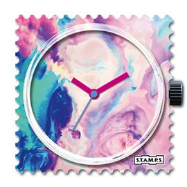 Cadran de montre Stamps cotton candy