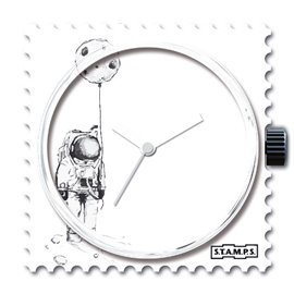 Montre Stamps cadran de montre lost in universe