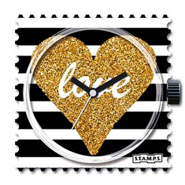Cadran de montre Stamps shiny love