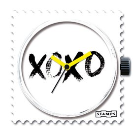 Montre Stamps cadran de montre XOXO