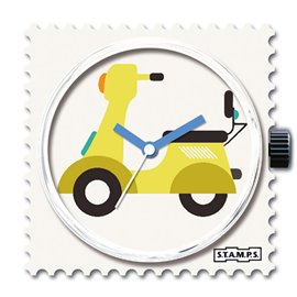 Montre Stamps cadran de montre vroom vroom