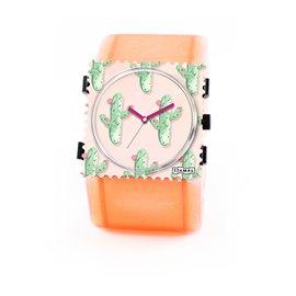 Montre Stamps bracelet de montre belta Stamps belta batik rouge élastique