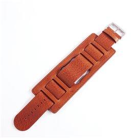 Jack de Bracelet de montre Stamps marron Jack Rough