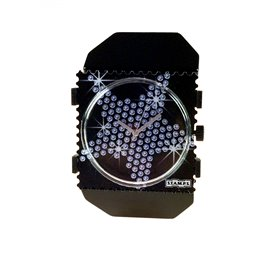 Montre Stamps bracelet de montre belta Y noir élastique