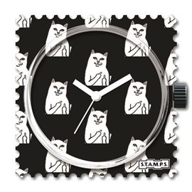 Cadran de montre Stamps cat you
