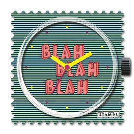 Cadran de montre Stamps blah