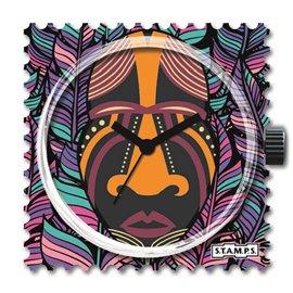 STAMPS Cadran de montre african vibes