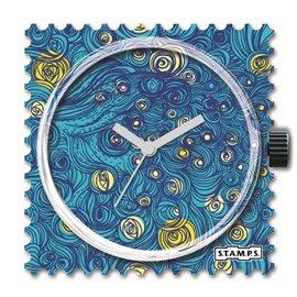 Cadran de montre Stamps midnight in paris