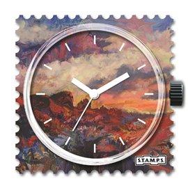 Cadran de montre Stamps rocky desert