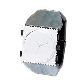 Bracelet élastique de montre Stamps belta Y argent perle