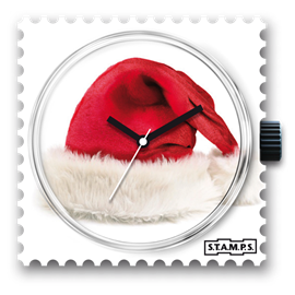 Cadran de montre Stamps red hat