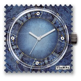 Montre Stamps cadran de montre time wash