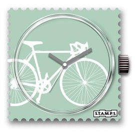 Montre Stamps cadran de montre lance