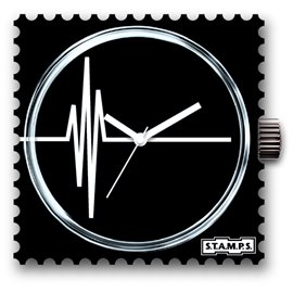 Cadran waterproof de montre Stamps sinus